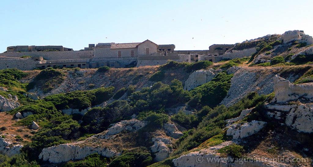 Le Fort de Caveaux au frioul