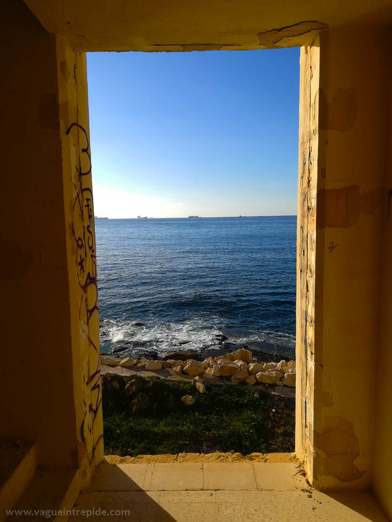 Vue sur la méditerranée, Jerma Palace Hotel, malte, Jerma Palace Hotel, malte