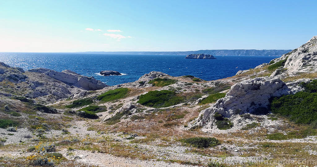 Vue imprenable depuis l'île de Pomègues