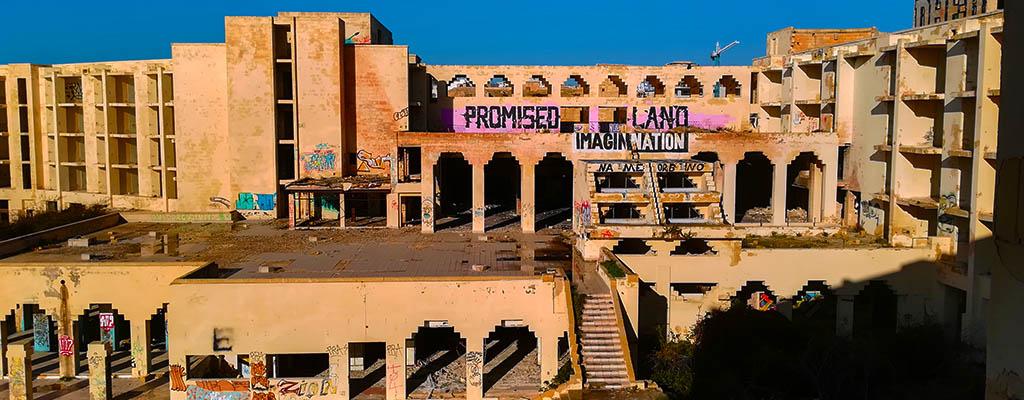 Jerma Palace Hotel Un palace à l'abandon