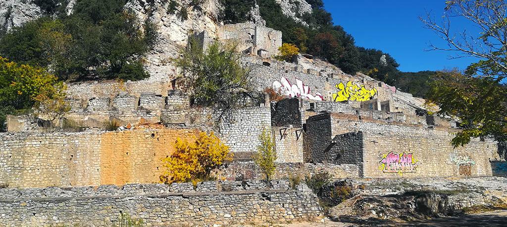 Ancienne usine de lavage de minerais